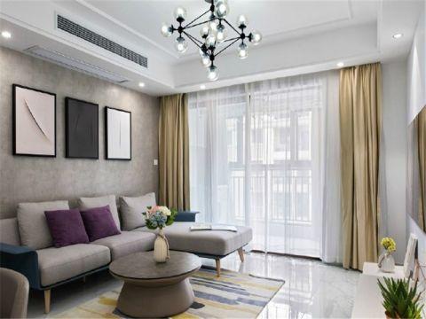 2021现代简约100平米图片 2021现代简约套房设计图片