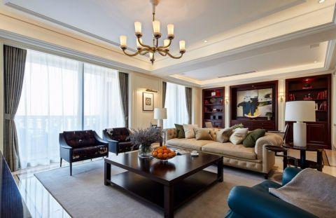 2021现代简约120平米装修效果图片 2021现代简约楼房图片