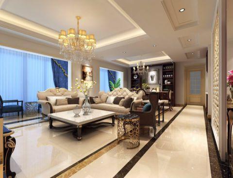 没有欧式奢华华丽的表象,却有着欧式的优雅高贵,也很符合中国人的审美价值。色彩的变幻和多元素的融合是简约的经典理念