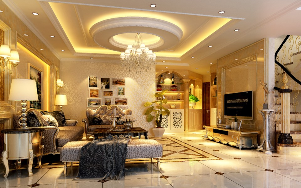 3室2卫2厅新古典风格