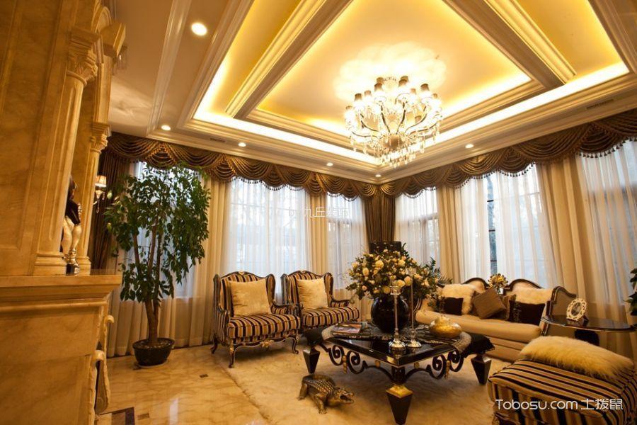 悦龙湾白色欧式别墅实景图