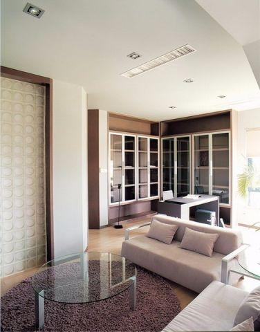 上海康城简约大户型风格样板房