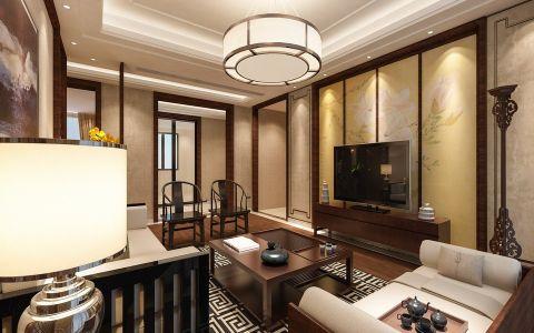 2019新中式客厅装修设计 2019新中式背景墙装修设计