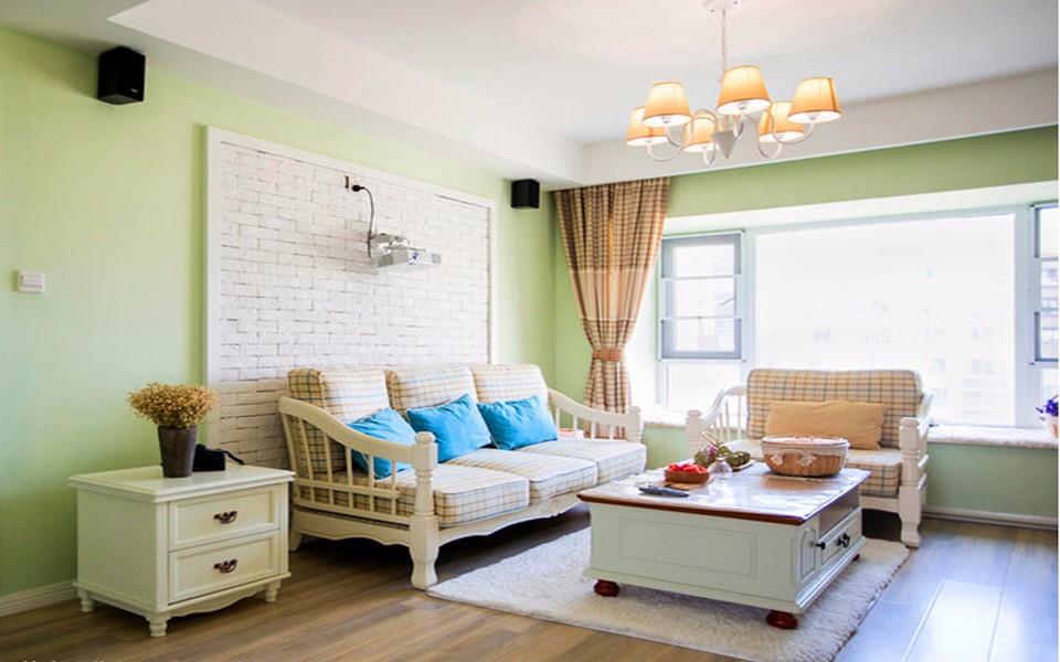 2室1卫2厅100平米田园风格