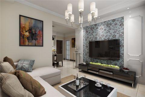 完美客厅内墙现代设计图片