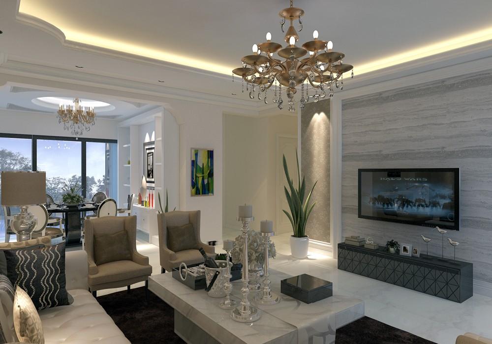 3室1卫2厅130平米欧式风格