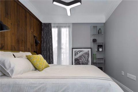卧室背景墙新古典风格装修图片