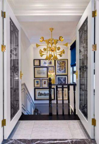楼梯新古典风格装饰图片