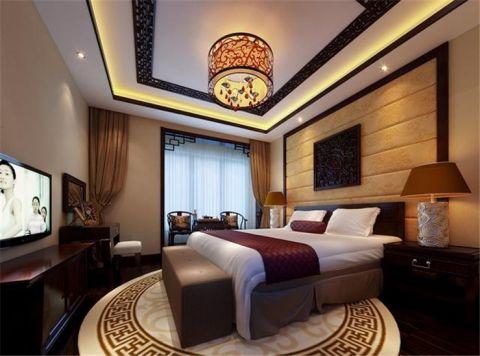 卧室中式风格装修效果图