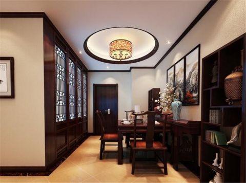 餐厅中式风格装饰效果图