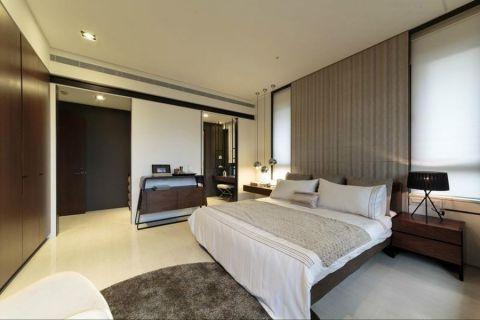 卧室走廊现代简约风格装修设计图片