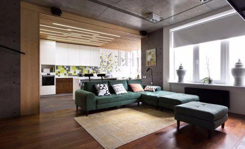 客厅经典风格装潢设计图片
