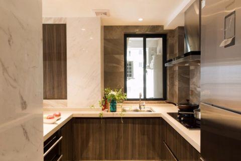 厨房现代简约风格装修效果图
