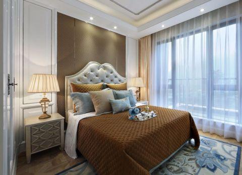 卧室简欧风格装潢效果图