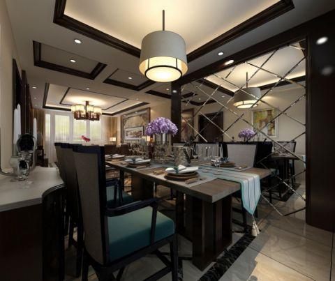 餐厅吊顶简中风格装潢图片