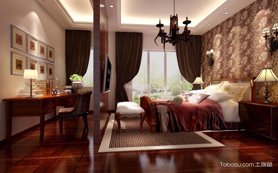 志成花园190平米新中式别墅室装修效果图