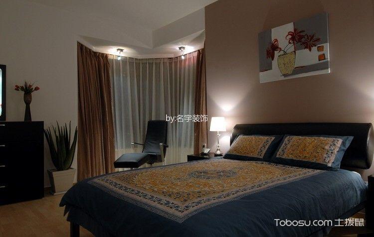虹桥一号100平米现代风格两居室装修效果图