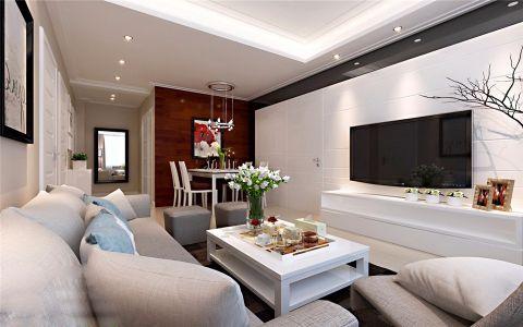 客厅吊顶简约风格装饰效果图