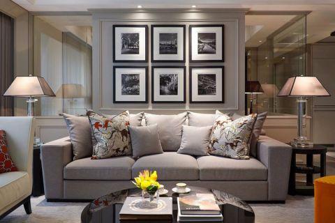 2021新古典110平米装修图片 2021新古典二居室装修设计