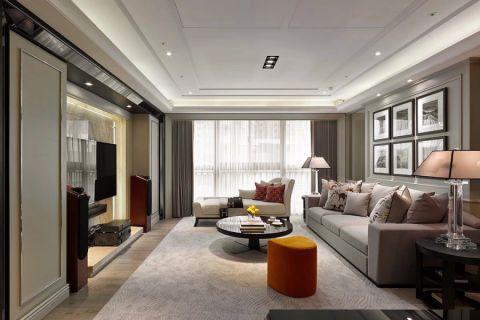 2021混搭150平米效果图 2021混搭四居室装修图