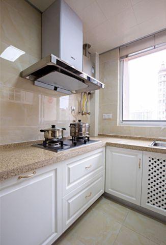 厨房背景墙欧式风格装潢图片