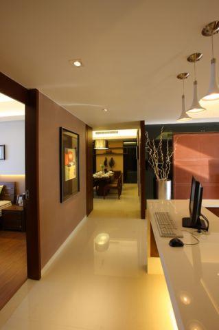 汤城豪园120平米经典风格三居室装修效果图