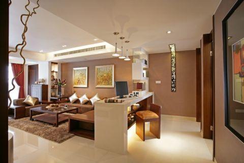 客厅吊顶经典风格装饰设计图片