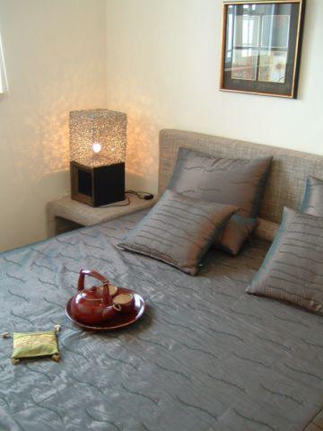 卧室背景墙东南亚风格装修效果图