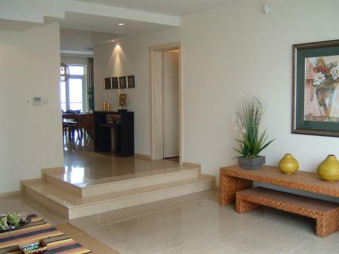 客厅背景墙东南亚风格装饰效果图