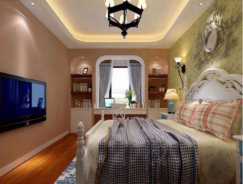 天房天拖100平米地中海风格三居室装修效果图