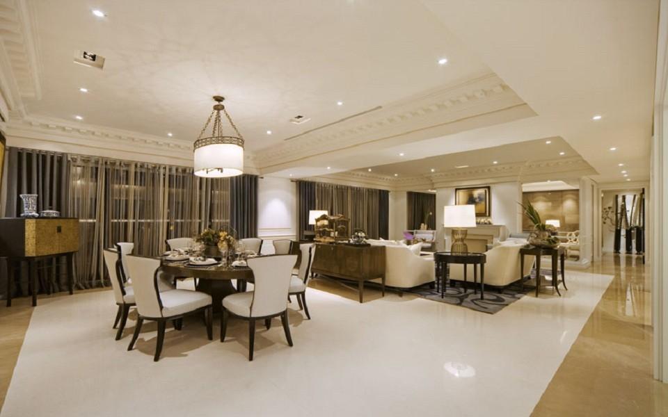 3室2卫2厅110平米欧式风格