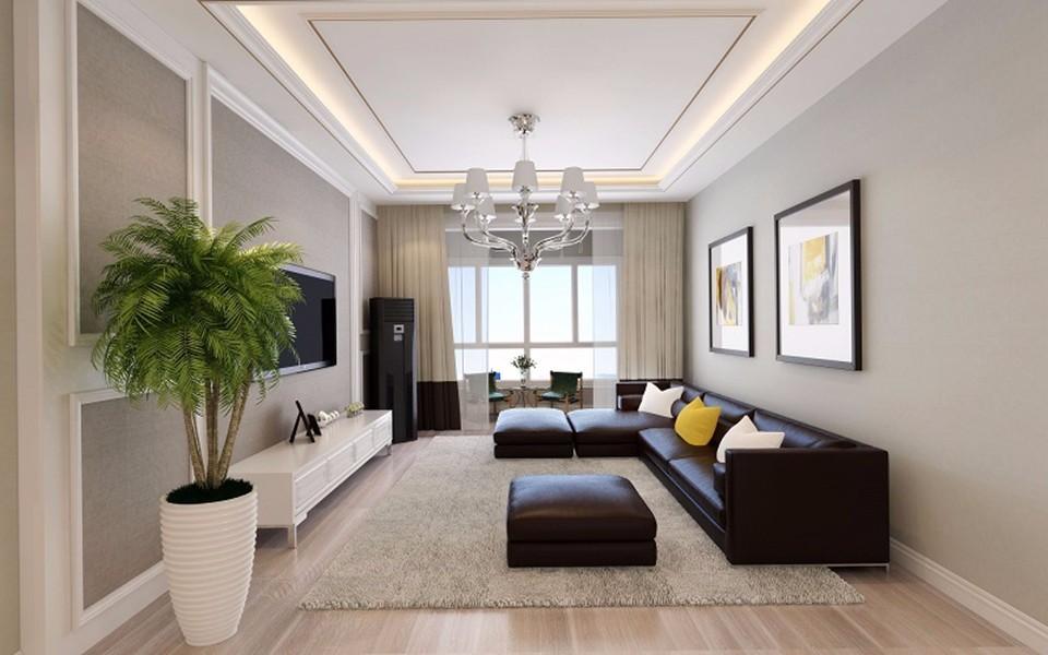 2室1卫1厅65平米现代简约风格