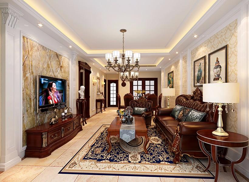 4室1卫1厅128平米欧式风格