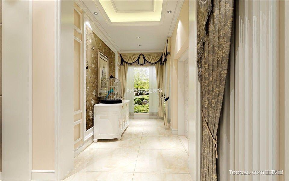 新密自建房320平米欧式古典风格别墅装修效果图