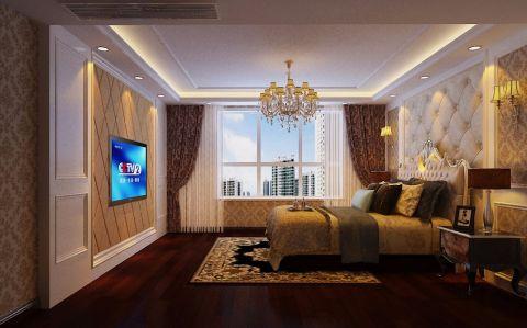 卧室吊顶欧式风格装饰设计图片