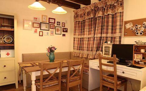 餐厅照片墙田园风格装饰图片