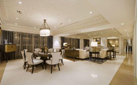 宁安小区三居室欧式风格效果图