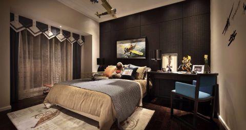 观邸国际寓所109现代二居室效果图