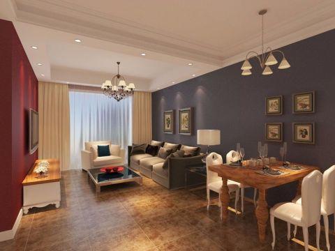 象博豪庭二居室现代简约风格装修效果图