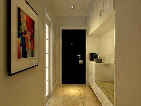 玄关照片墙现代简约风格装潢图片