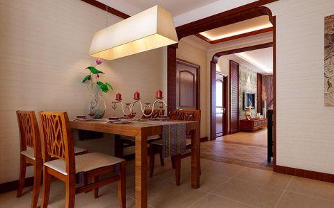 餐厅吊顶东南亚风格装修效果图
