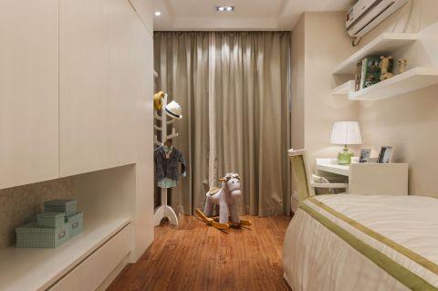 儿童房窗帘新中式风格装饰效果图