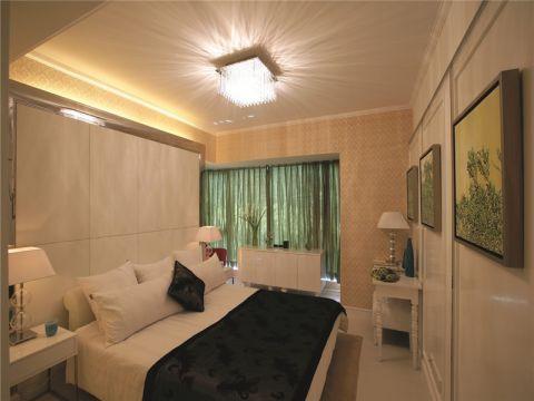卧室照片墙简欧风格装潢设计图片