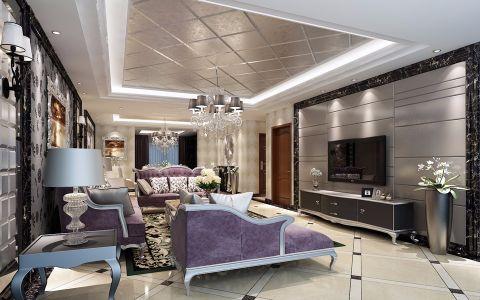 武汉天地新古典半包295平大四房装修设计图