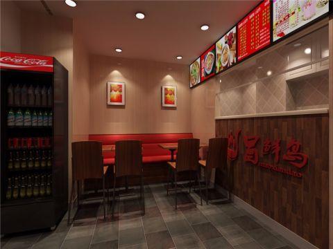 餐饮川味小吃店工装装修效果图