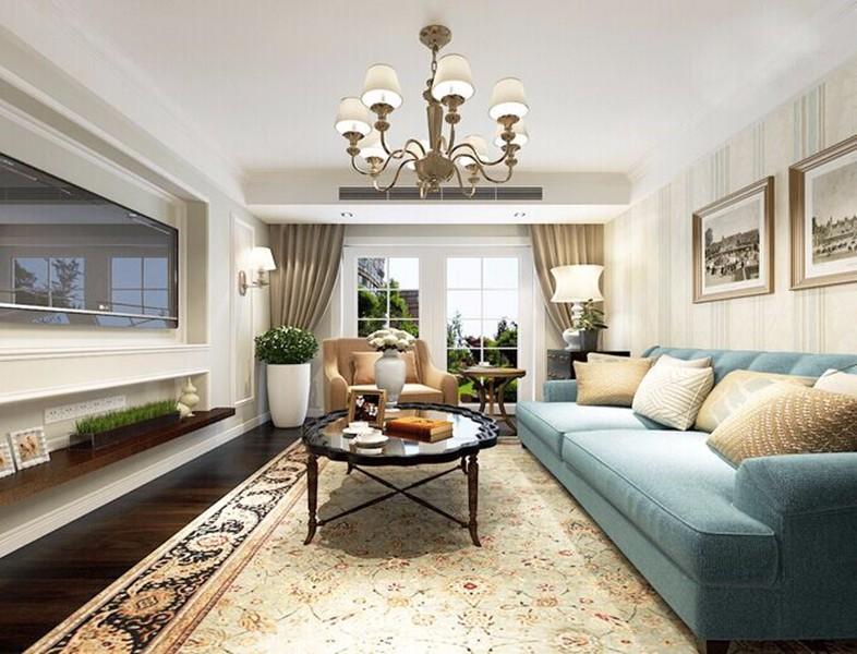 2室1卫1厅110平米美式风格
