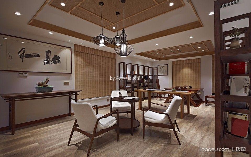 新中式风格茶楼雅座设计图片