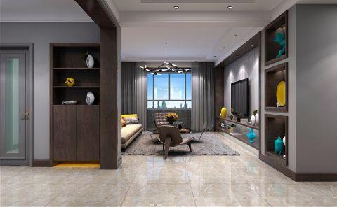 客厅走廊现代风格装修图片