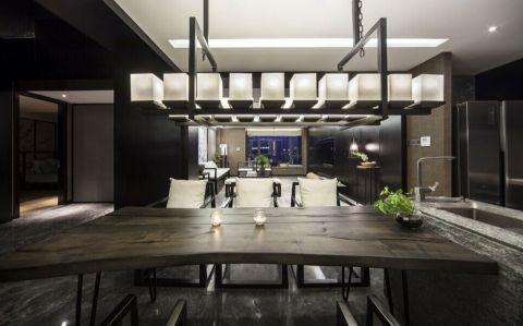 餐厅走廊新中式风格装修设计图片