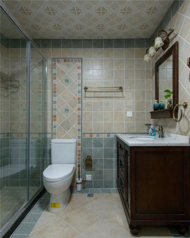 卫生间美式风格装修效果图